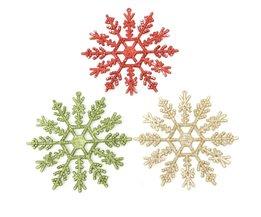 Schneeflocke Weihnachtsbaumdekoration
