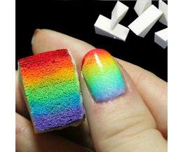 Schwamm-Nagel Für Kreative Nails