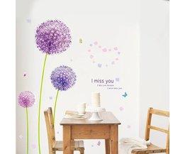 Aufkleber-Blumen