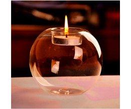 Kerzenhalter Aus Glas Globe