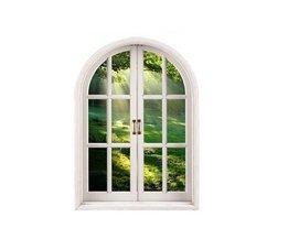 Fenster-Wand-Aufkleber Wald