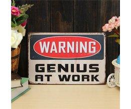 Melden Genie Bei Der Arbeit