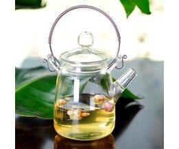 Schöne Glas Teekanne 350Ml