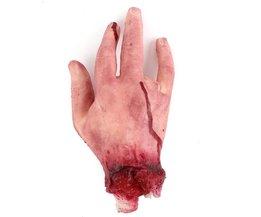 Fake-Hand Mit Blut