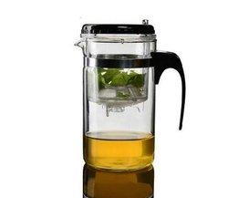 Glas Teekannen Mit Filter 500Ml