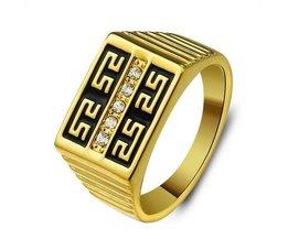 Ring Man Goldfarbe