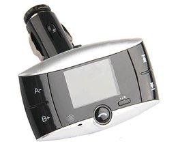 FM-Transmitter Mit Bluetooth Für Ihr Auto