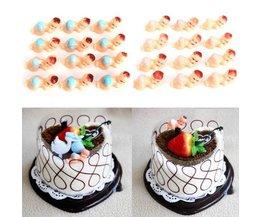Kuchen-Dekorationen Für Baby-Dusche 12 Stück
