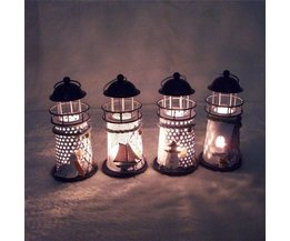 Für Eine Kerze Laterne In Einem Leuchtturm-Formular