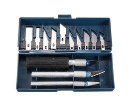 Set Mit 16 Craft Messer