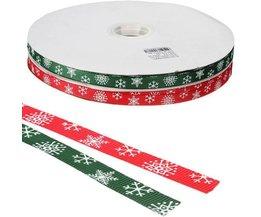 Weihnachtsband In Der Farbe Rot Und Grün
