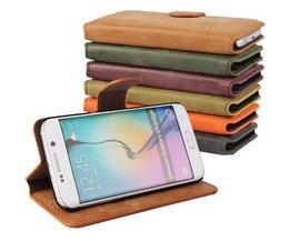 Ledertasche Für Samsung Galaxy S6 Edge-G9250