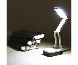 Folding Schreibtischlampe Mit LED
