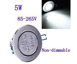 Vertiefte LED Spot 5W