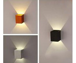 3W Aluminium-LED-Wandleuchte