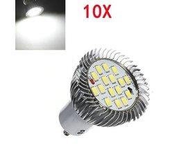GU10 LED-Scheinwerfer Reines Weißes Licht 10 Stück