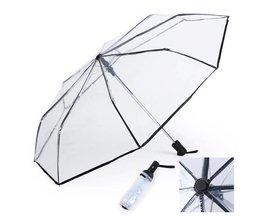 Transparente Regenschirm