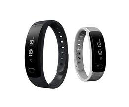 Unisex-Digital-Sport-Uhr Mit Pedometer GX-BW111