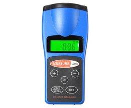 Digitale Ultraschall-Entfernungsmesser Mit Laser
