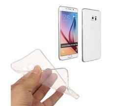 Transparent-Fall Für Samsung Galaxy S6 Edge-Plus-