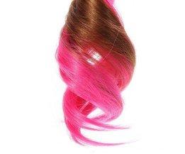 Gefärbtes Haar-Verlängerungen