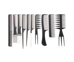 Set Barber Combs (10 Stück)