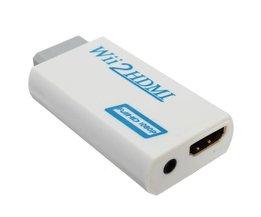 Wii HDMI Adapter + 3,5 Mm-Anschluss