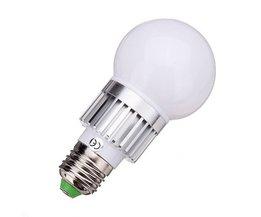 E27 RGB-LED-Lampe Mit 3W Power