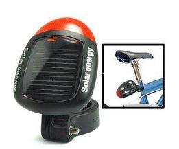 Fahrradlicht Solarbetriebene Schwanz