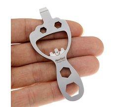 Schlüsselanhänger Mit Öffner, Schraubendreher Und Schraubenschlüssel