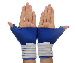 Elastische Handgelenkbandage Handschuhe 1 Paar