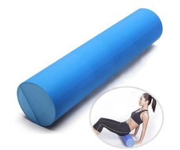 Yoga Roll Of Schaum In Blau Gemacht