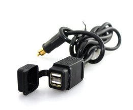 Dual USB Car Charger 12-24 V