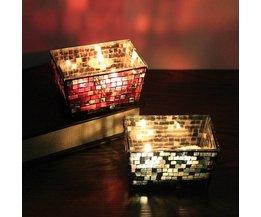 Waxinelichthouder Mit Mosaik