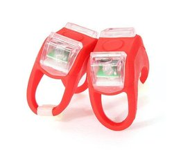 Fahrradbeleuchtung LED-Silikon White Light