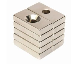 Magnet N50 Mit Loch 10 Stück
