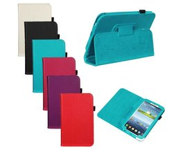 Tablet Case Of Leather For Samsung Tab 3 P3200