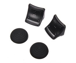 Silicone Grips And Trigger Extenders For PS 3 Controller