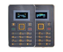 Mobile Phone Credit Card Format AEKU K5