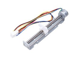 4-9 Volts Stepper Motor On Sliding Profile