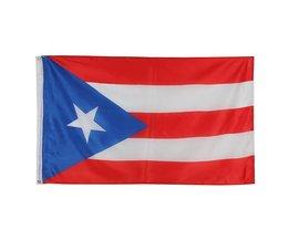 Puerto Rico Flag 150 X 90Cm