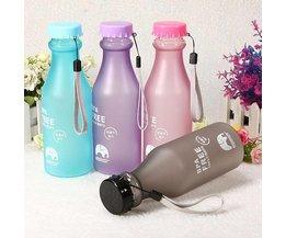 Sports Water Bottle 500Ml BPA Free Content