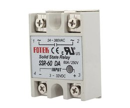 Solid State Relay SSR 60A With Output AC24-380V