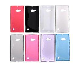 S Line TPU Case For Nokia Lumia 730/735