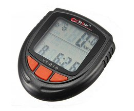 Waterproof LCD Bicycle Speedometer