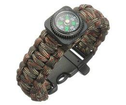 Compass Paracord Bracelets