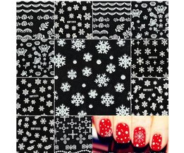 Nail Stickers Christmas