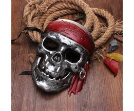 Pirates Of The Caribbean Skull Mask