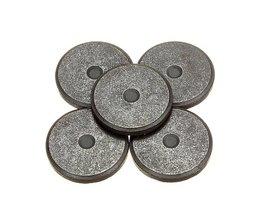 Round Ferrite Magnets 5 Pieces