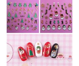 Nail Art Stickers For Christmas